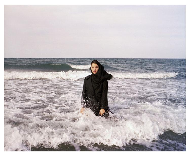 IRAN. Mahmoudabad. Caspian Sea. 2011. Credit: Newsha Tavakolian/Magnum-Photos
