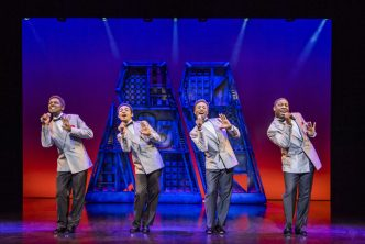 Motown The Musical West End Cast - The Four Tops - credit Tristram Kenton