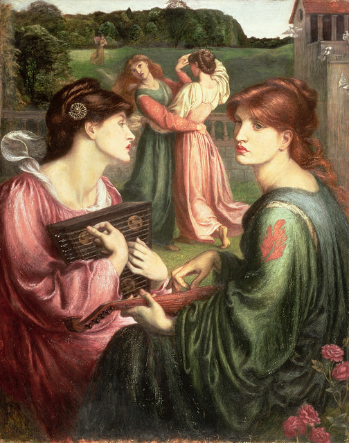 Dante Gabriel Rossetti The Bower Meadow 1850-72 © Manchester Art Gallery/Bridgeman Images