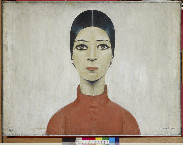 CAL015.Portrait of Ann 1957.MP.1110-003076 © The Estate of L.S. Lowry. All Rights Reserved, DACS 2018