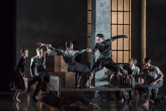 LIFE IS A DREAM by Brandstrup, , Choreography - Kim Brandstrup, Rambert Ballet, Sadlers Wells Theatre, London, 2018, Credit Johan Persson
