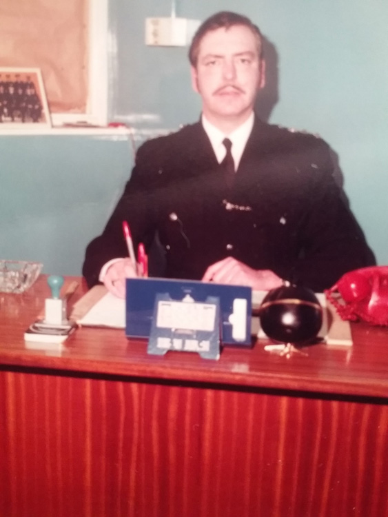 Life in the police force: Ernie Thompson