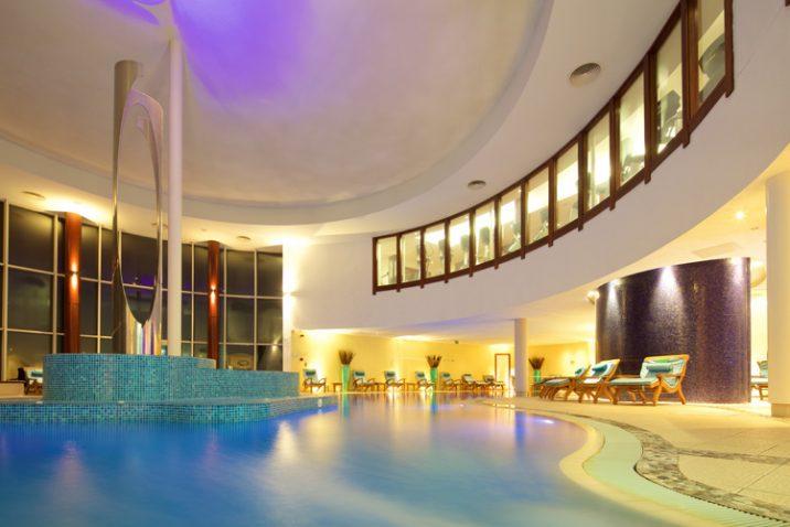 Seaham Hall spa indoor pool