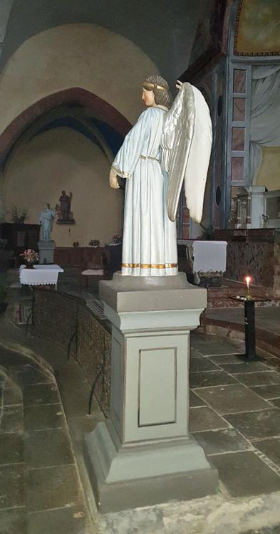 Saissac church
