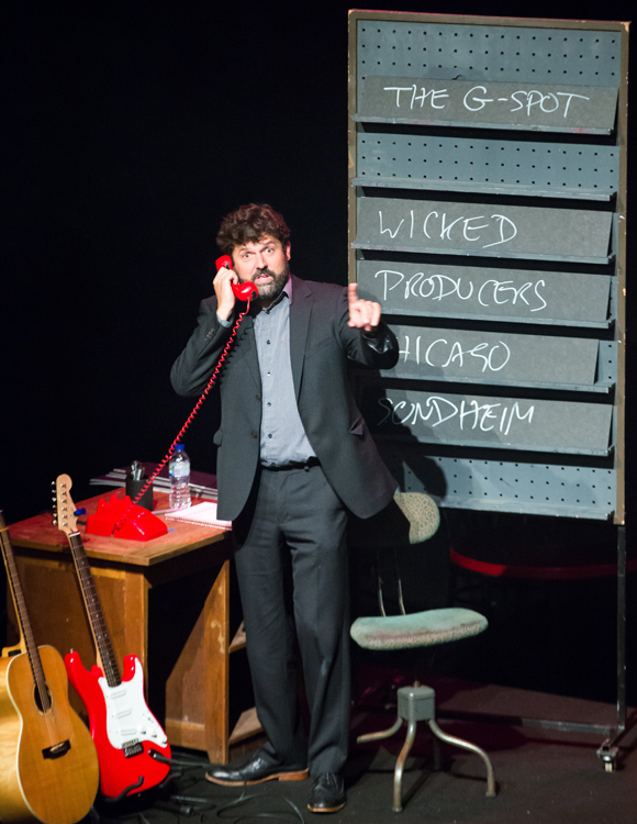 Dylan Emery in Showstopper! The Improvised Musical