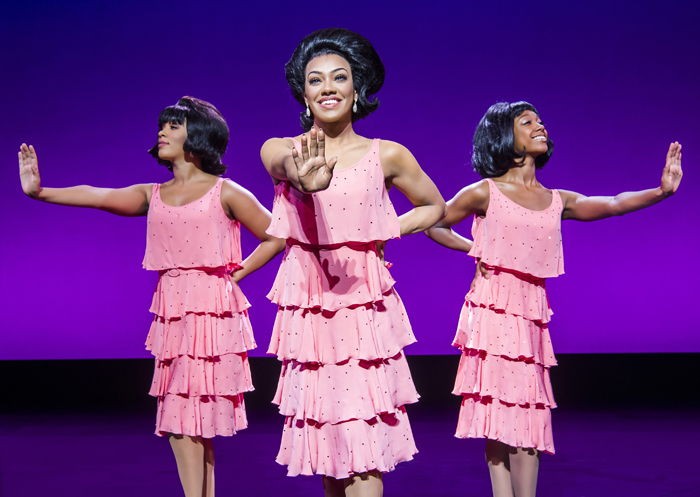 Karis Anderson 'Diana Ross' and The Supremes. Photo Tristram Kenton