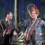 'The Magic Flute' Opera performed by Opera North, Leeds, UK