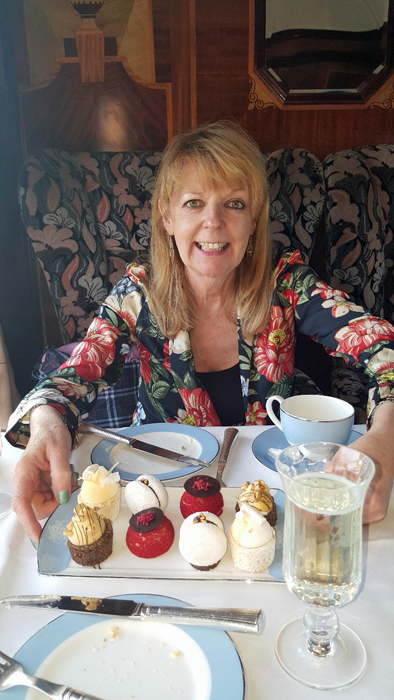 Afternoon tea on Belmond British Pullman