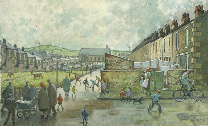 Painting by Norman Cornish