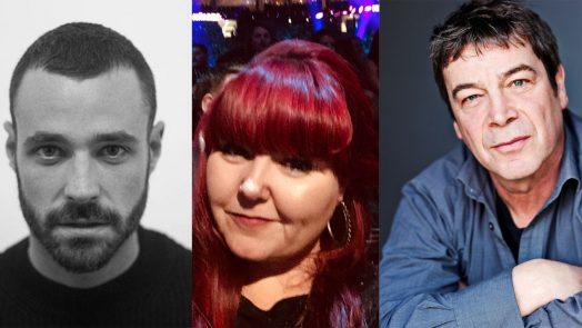 Sean Ward, Lindsay Williams and Richard Hawley