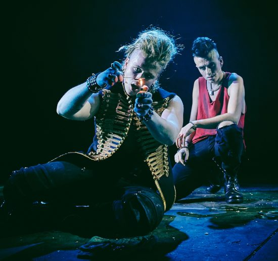 [L-R] Luke Friend (St. Jimmy), Tom Milner (Johnny) - American Idiot UK Tour. Mark Dawson Photography