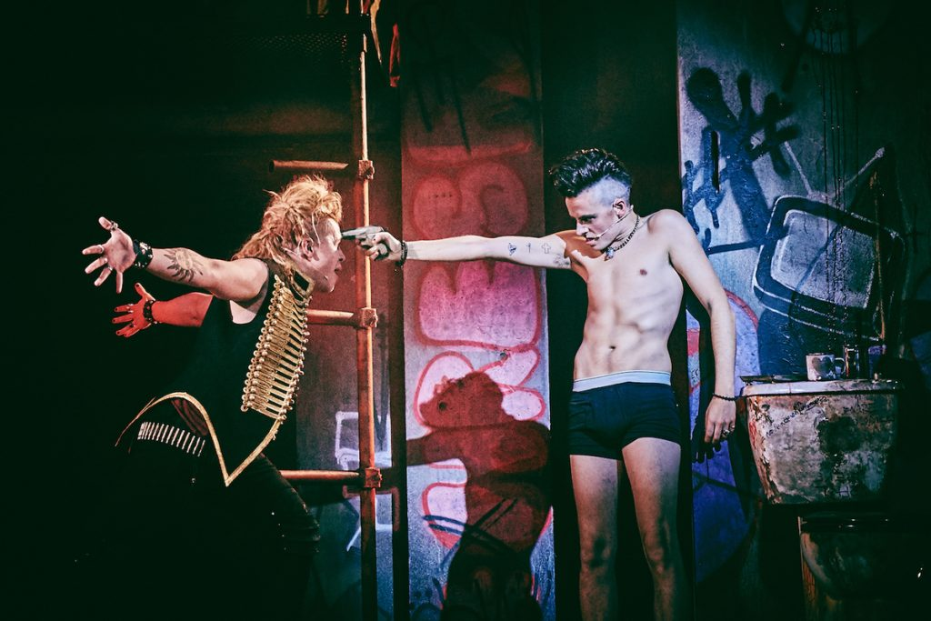 [L-R] Luke Friend (St. Jimmy), Tom Milner (Johnny) - American Idiot - UK Tour - Mark Dawson Photography