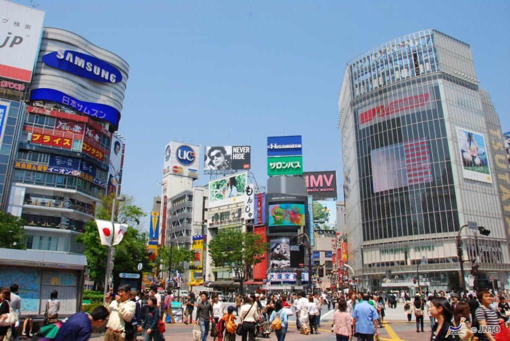 Shibuya Intersection© Y.Shimizu/© JNTO