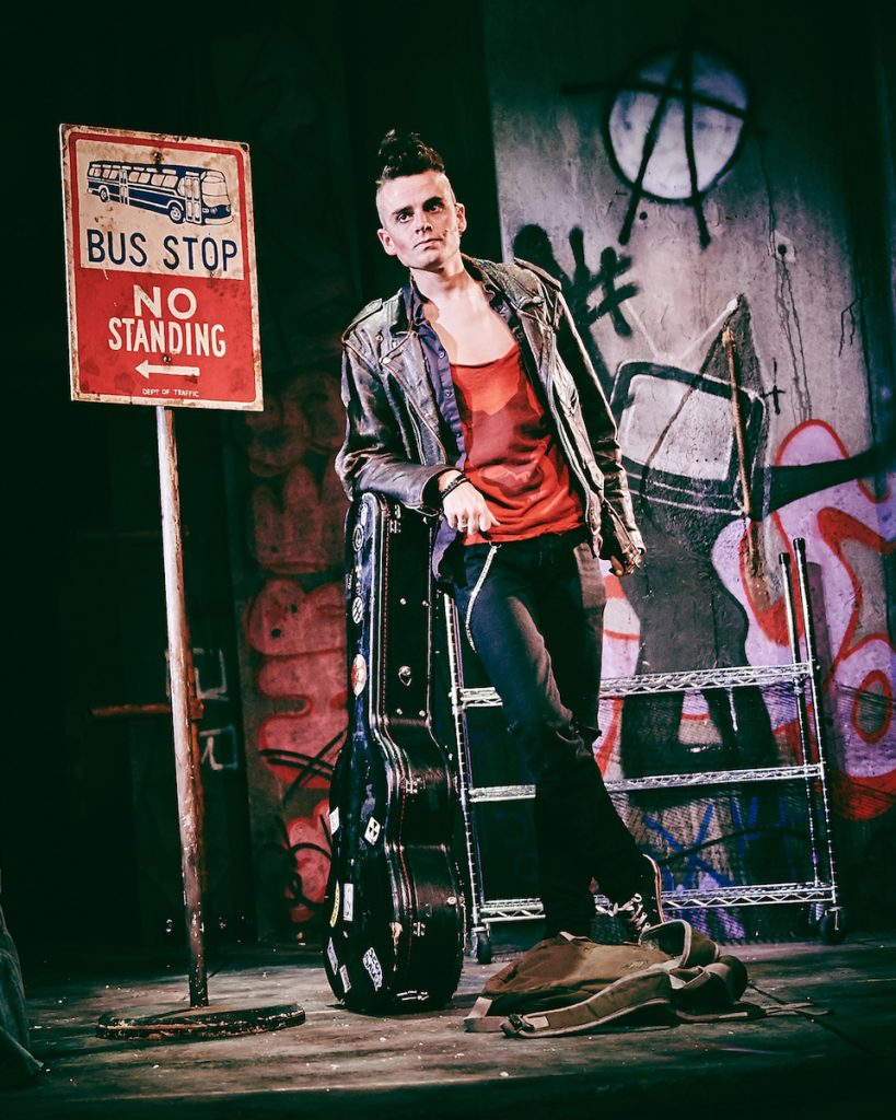 Tom Milner (Johnny) - American Idiot - UK Tour - Mark Dawson Photography