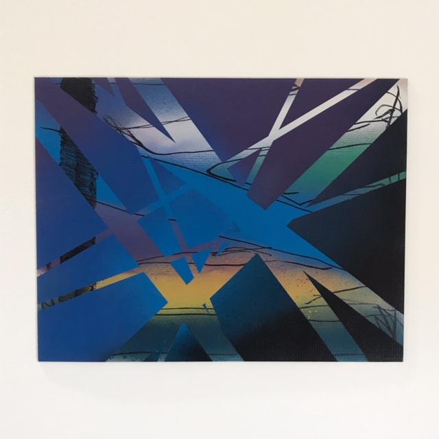 Untitled (spray paint work) - courtesy Joe Moran