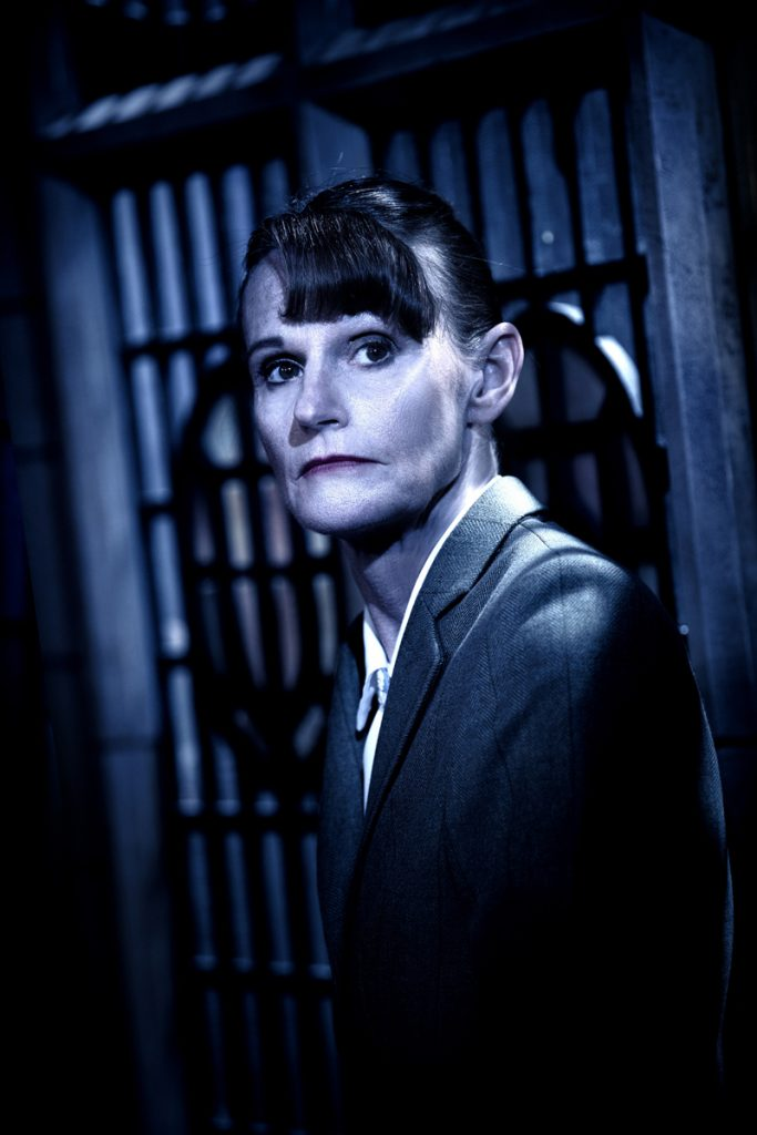 Gwyneth Strong in The Mousetrap ©Tristram Kenton
