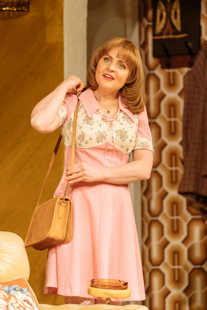 Vicky Binns (Angela) in Abigail's Party