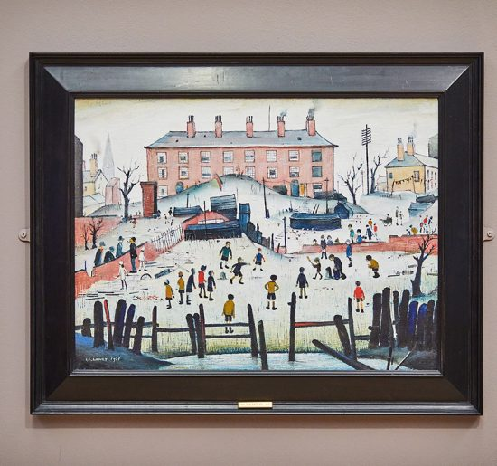 Lowry's A Cricket Match 1938