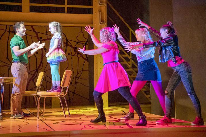 Little Miss Sunshine - Gabriel Vick, Evie Gibson, Alicia Belgarde, Elena Christie, Scarlet Roche (c) Richard H Smith