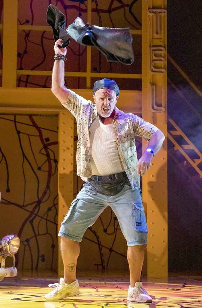 Mark Moraghan as Grandpa in Little Miss Sunshine (c) Richard H Smith