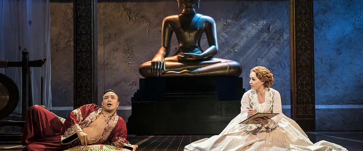 The King And I Tour Jose Llana (The King) Annalene Beechey (Anna) Credit: Johan Persson