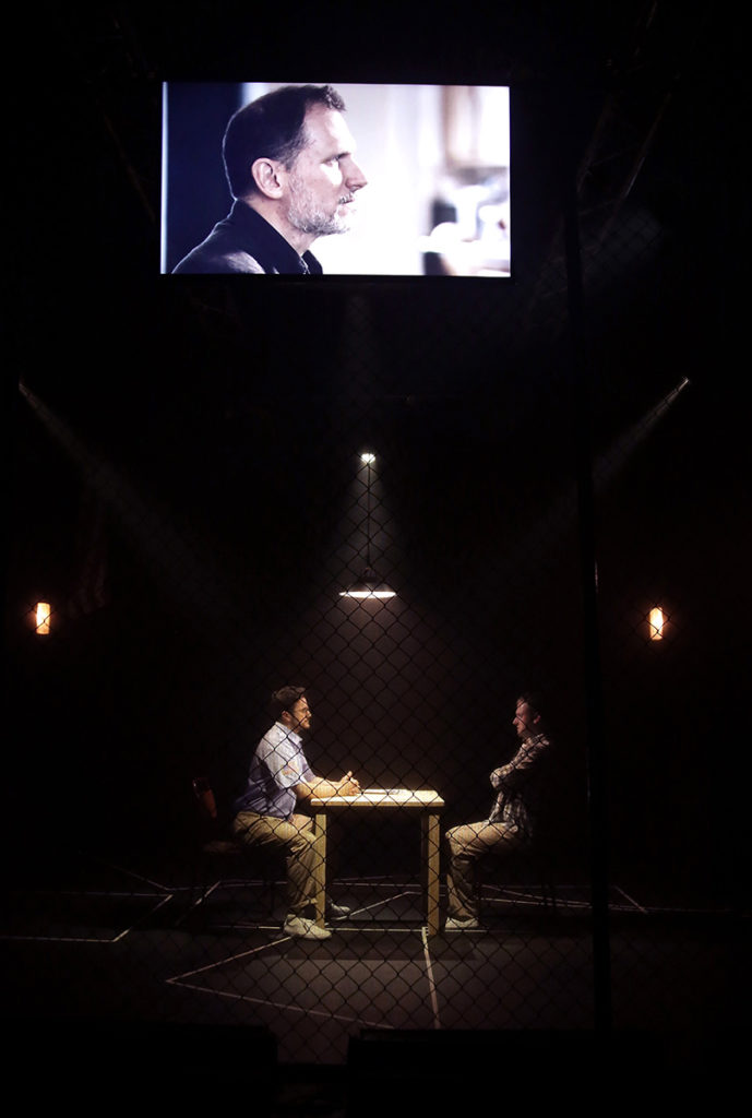 The Exonerated directed by Joseph Houston. Hope Mill Theatre Manchester. Photo Shay Rowan.