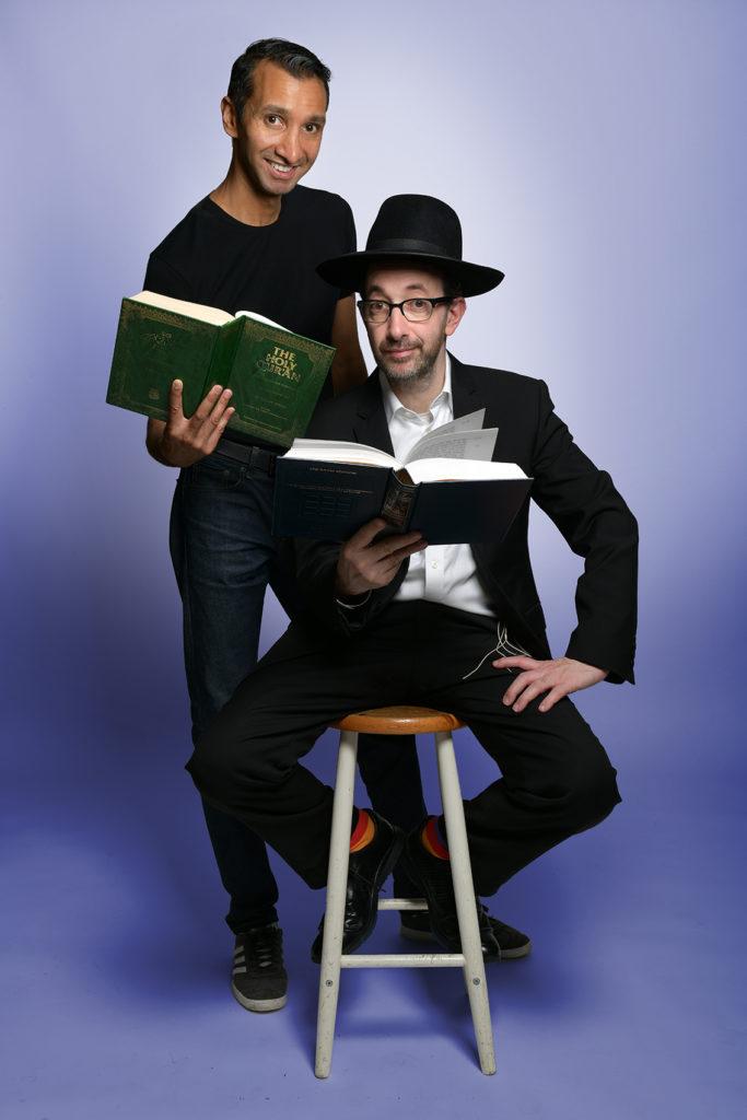 Imran Yusef and Ashley Blaker in Prophet Sharing