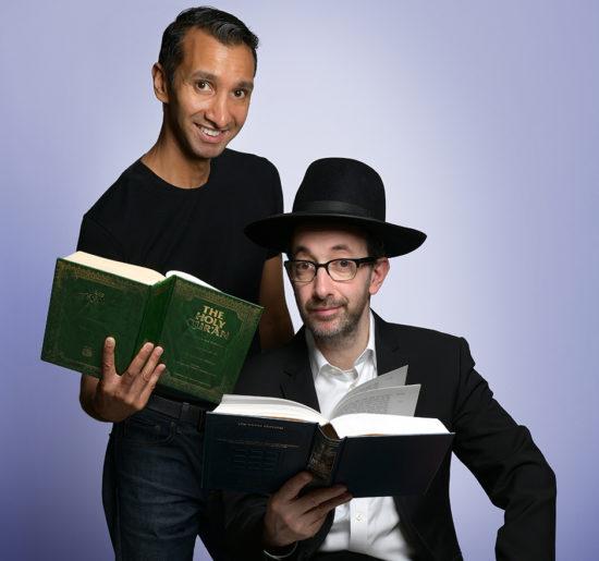 Ashley Blaker and Imran Yusef