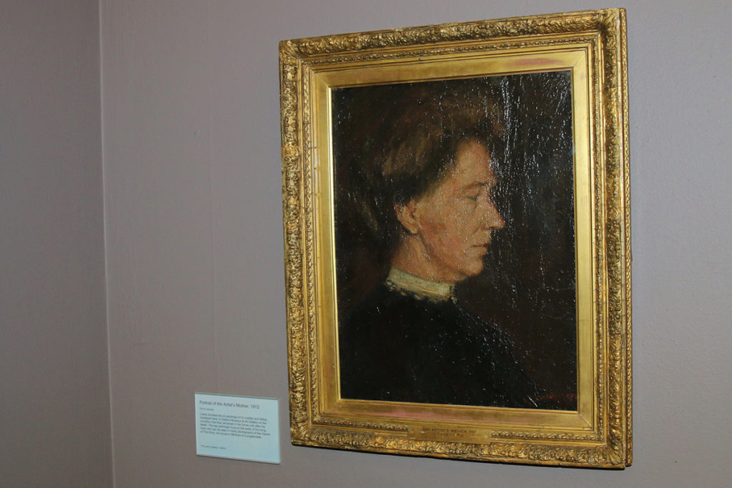 Portrait of the Artist's Mother, 1912  © The Lowry Collection, Salford