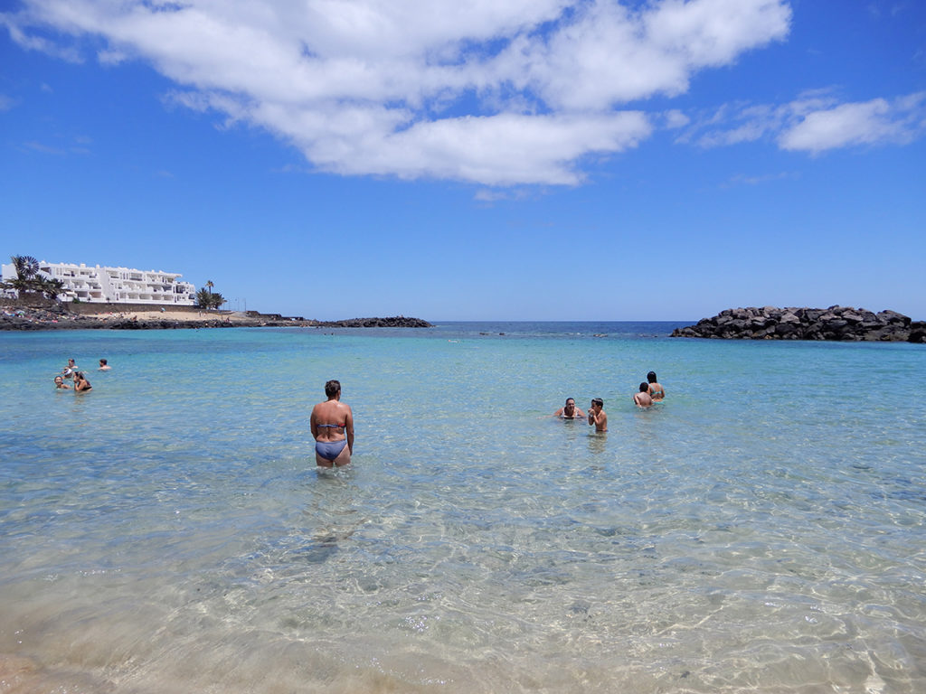 Costa Teguise beaches, Lanzarote