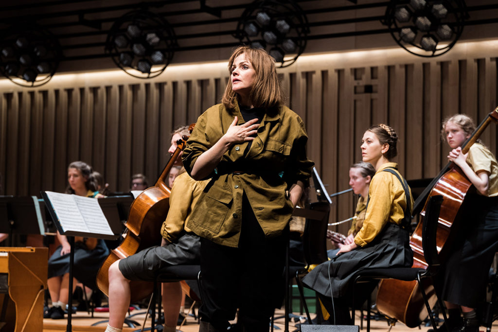 Maxine Peake in The Nico Project at MIF19. Credit: Joseph Lynn