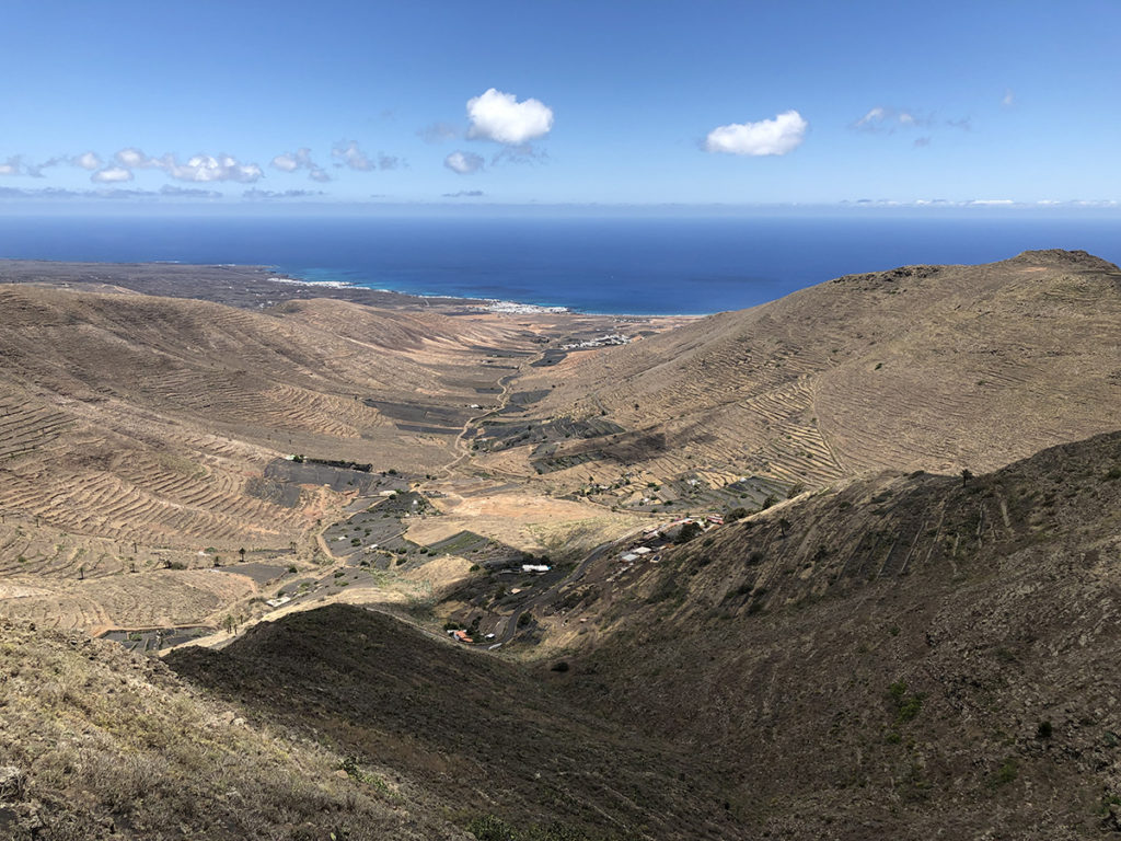 View from visitor centre in Timanfaya National Park, Lanzarote