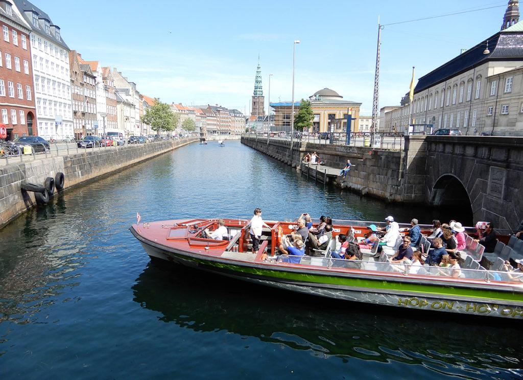 Canal cruise on a Copenhagen city break