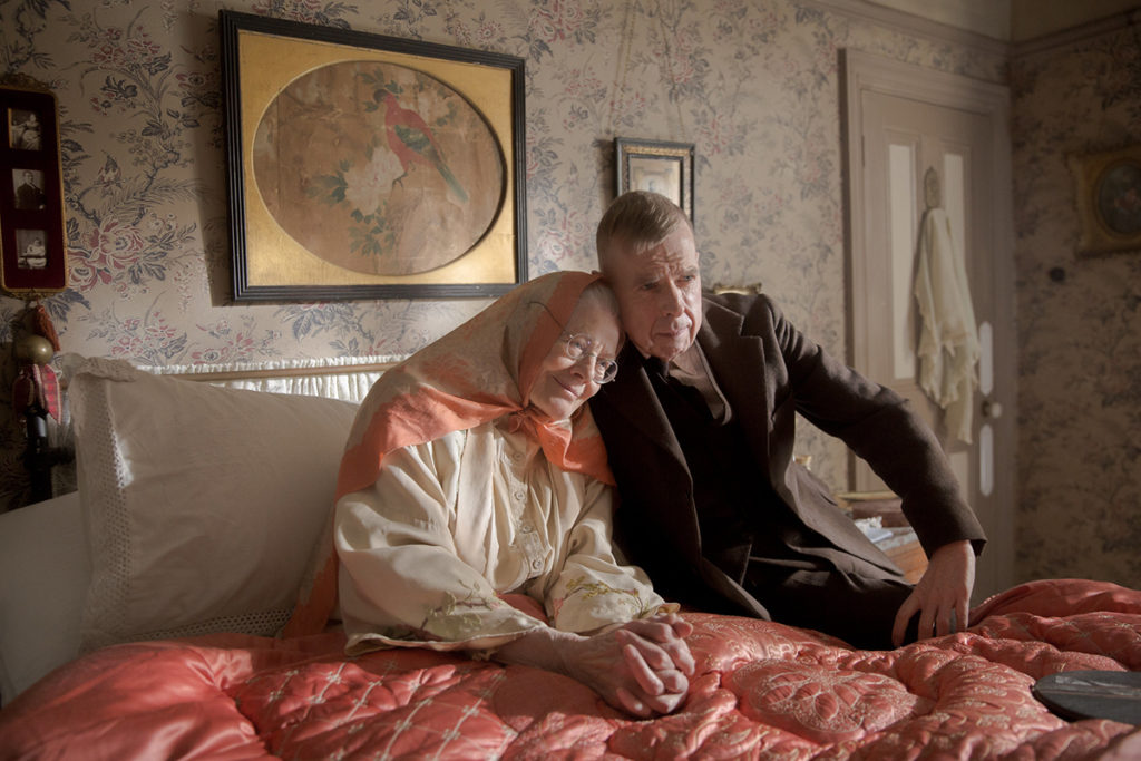 Timothy Spall and Vanessa Redgrave in Mrs Lowry & Son  Copyright: Vertigo Releasing
