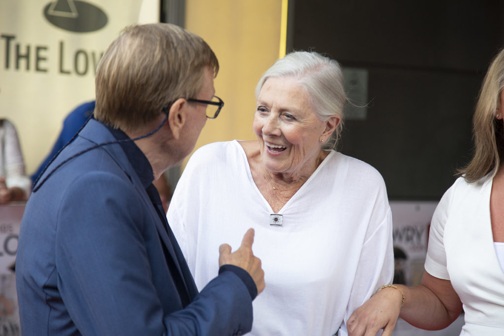Timothy Spall and Vanessa Redgrave at the gala premiere of Mrs Lowry and Son at The Lowry, Salford