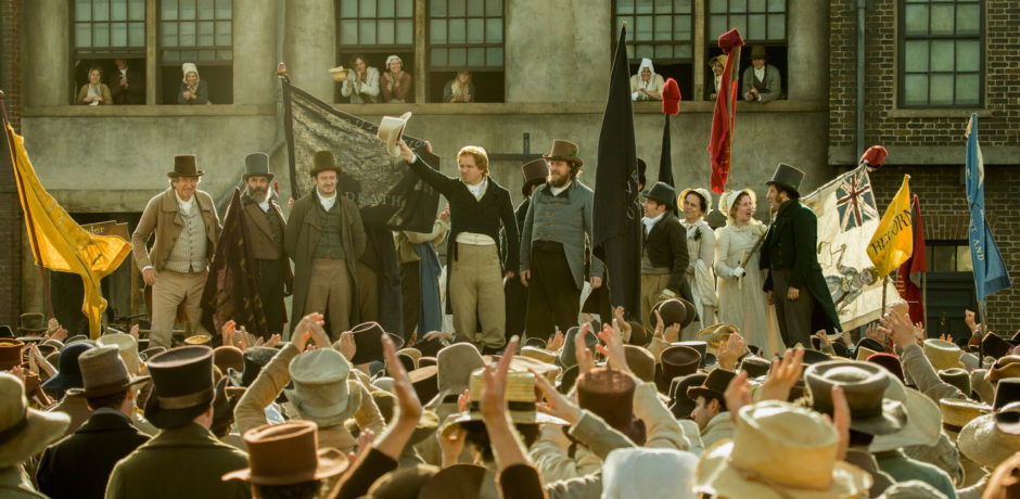 PETERLOO featuring Rory Kinnear as Henry Hunt courtesy of Amazon Studios.