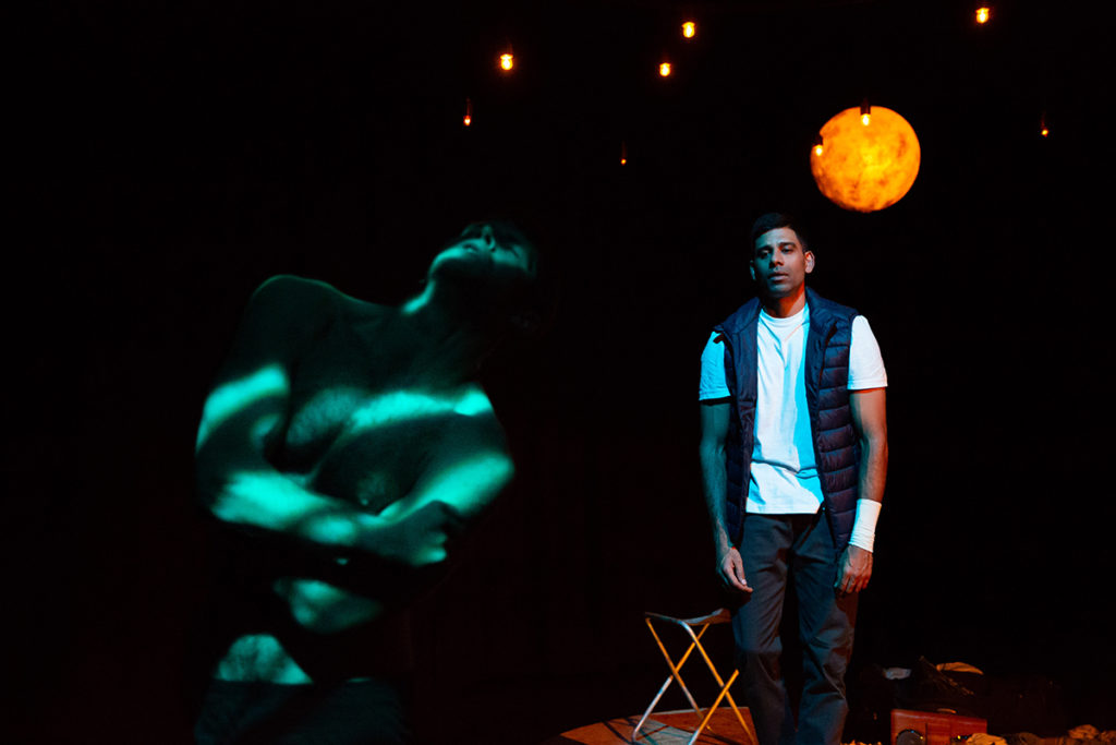Kyle Rowe and Darren Kuppan in Under Three Moons Photo Credit Alex Mead Decoy Media