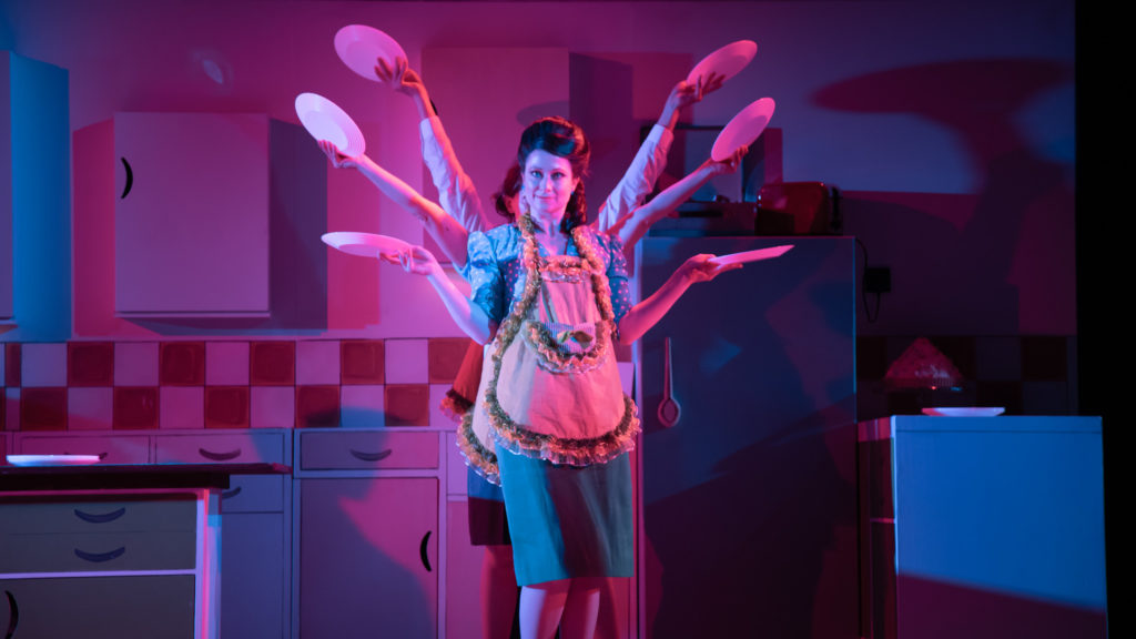 Samantha Hopkins in Toast - photo credit Piers Foley