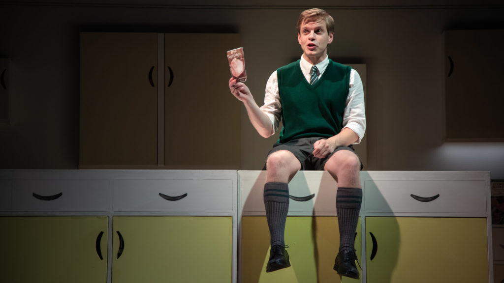 Giles Cooper in Toast - photo credit Piers Foley