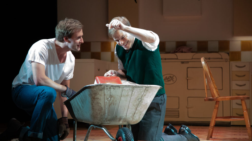 Stefan Edwards, Giles Cooper in Toast - photo credit Piers Foley