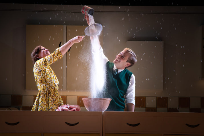 Giles Cooper and Katy Federman in Toast - photo credit Piers Foley