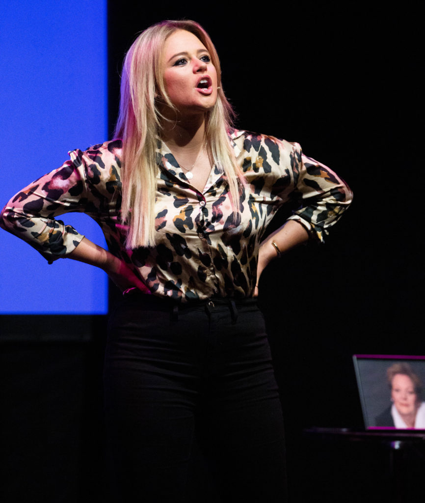 Emily Atack at The Lowry in Salford
