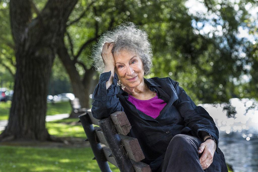 Margaret Atwood credit: Liam Sharp