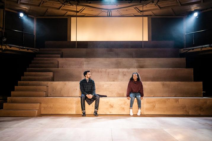 LIGHT FALLS - L-R Tachia Newall (Michael) & Witney White (Jess) - Image Manuel Harlan