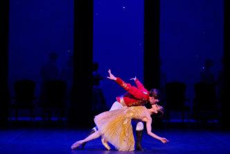 Erina Takahashi and Joseph Caley in English National Ballet's Cinderella (c) Laurent Liotardo