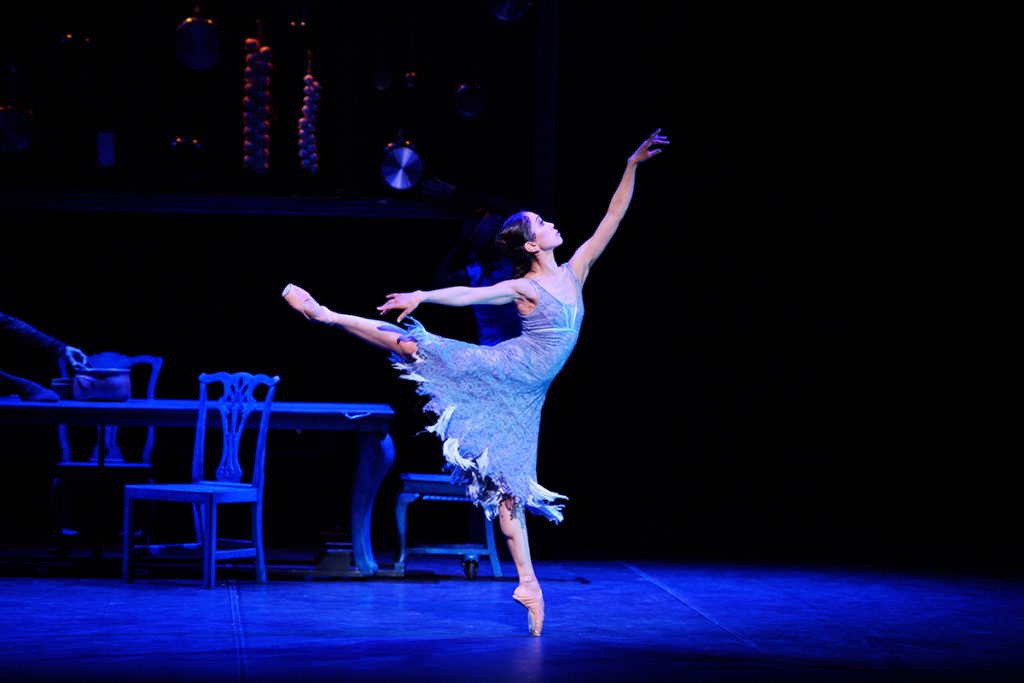 Erina Takahashi in English National Ballet's Cinderella (c) Laurent Liotardo