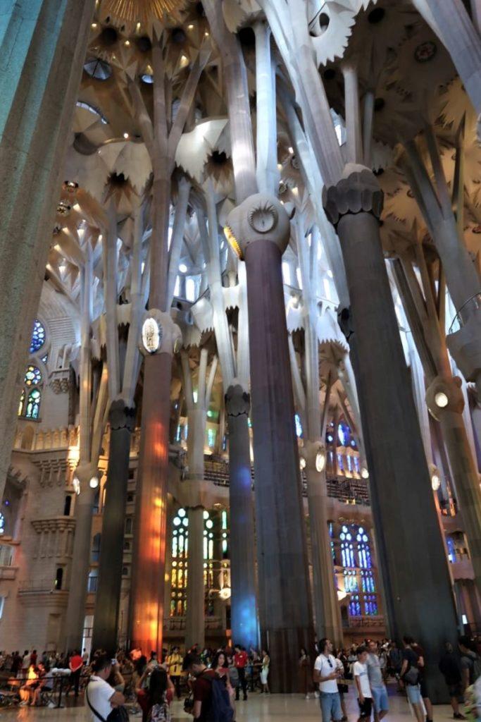 Inside Sagrada