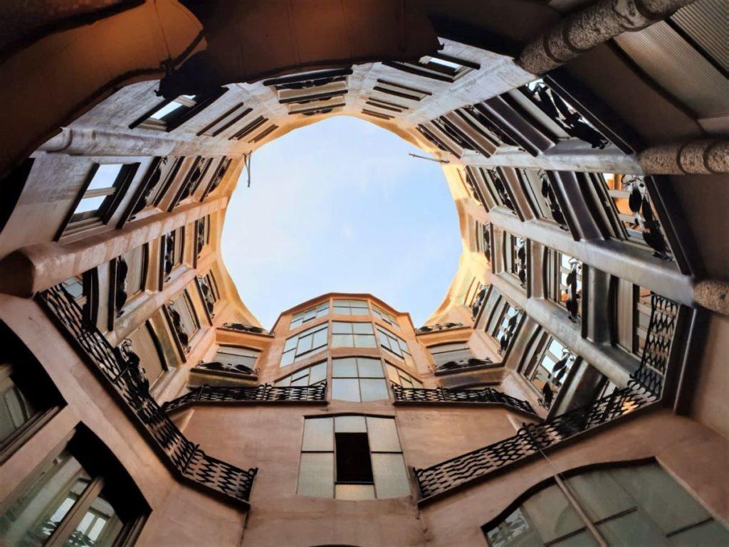 La Pedrera from the ground floor