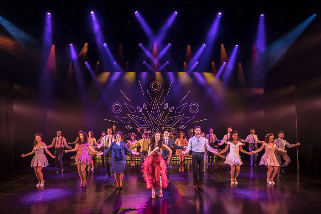 ON YOUR FEET. Philippa Stefani 'Gloria Estefan' and Company. Photo Johan Persson