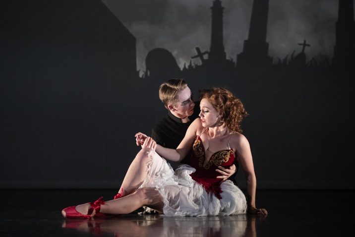 THE RED SHOES Liam Mower 'Ivan Boleslawsky' and Ashley Shaw 'Victoria Page'.Credit: Johan